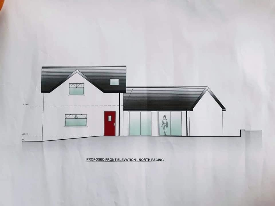 Drawings for the new extension at Hope House Ireland